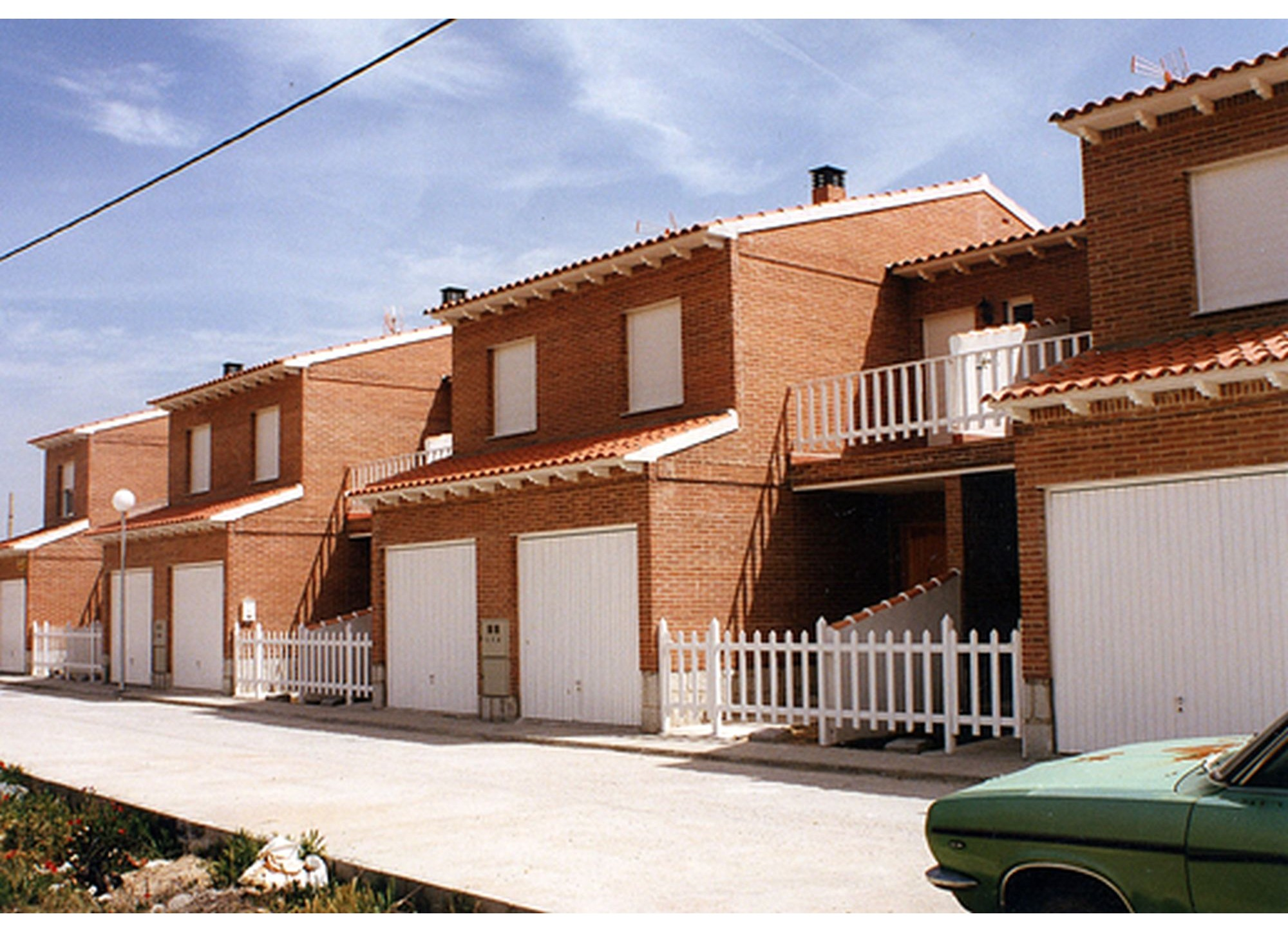 Calle Joan Miró, Chalets calle Joan Miró (Toledo)