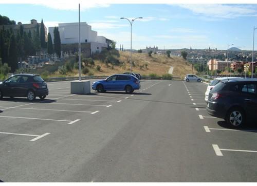 Calle Dinamarca, Aparcamiento de calle Dinamarca (Toledo)