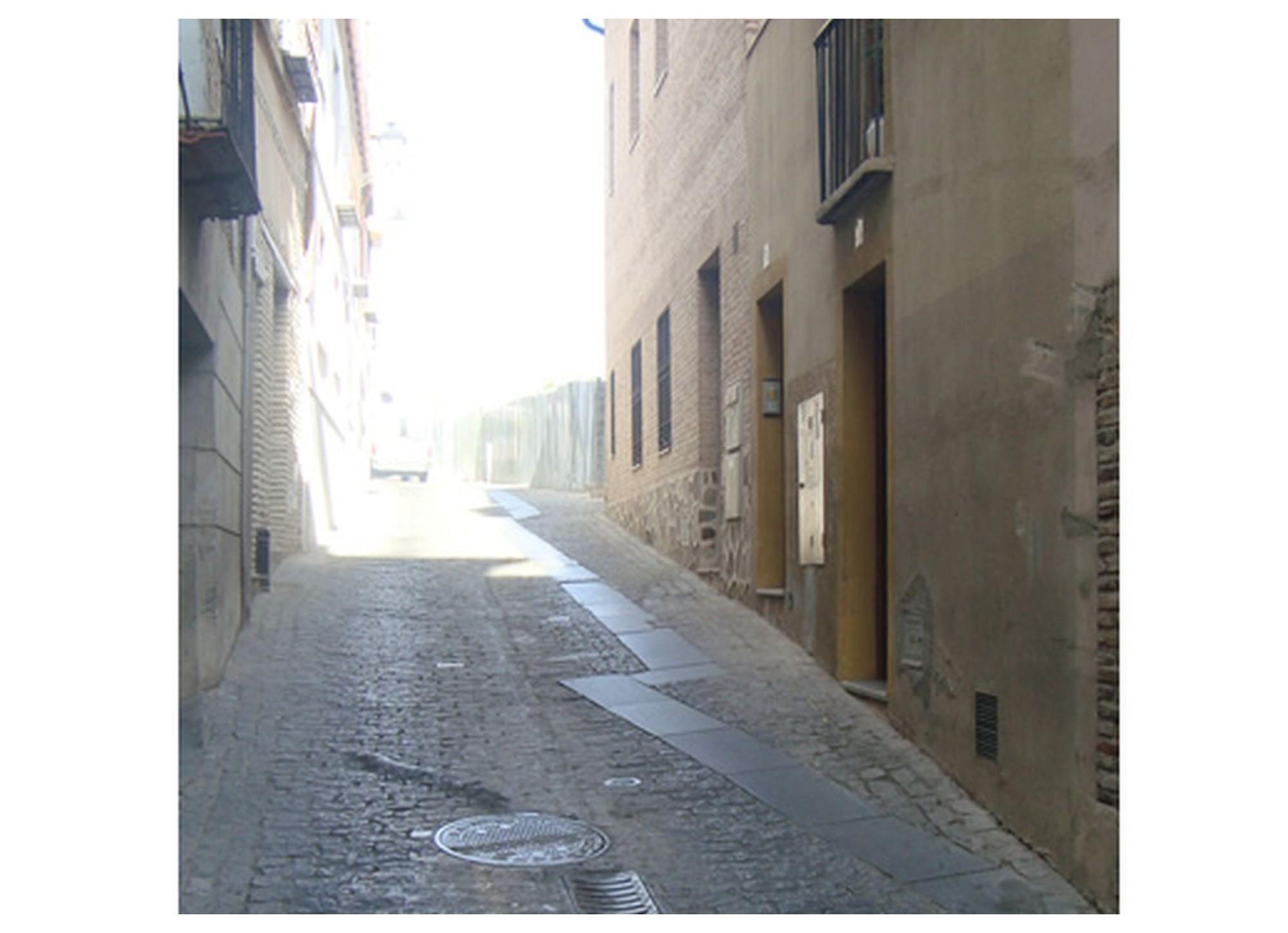 Ensanchamiento subida de la granja (Toledo)