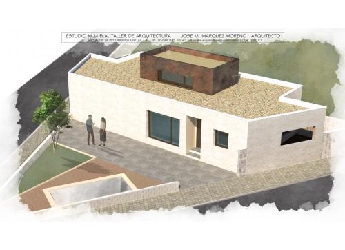 VIVIENDA UNIFAMILIAR ADOSADA, C/ BOLIVIA MR1- 13 MOCEJON (Toledo)